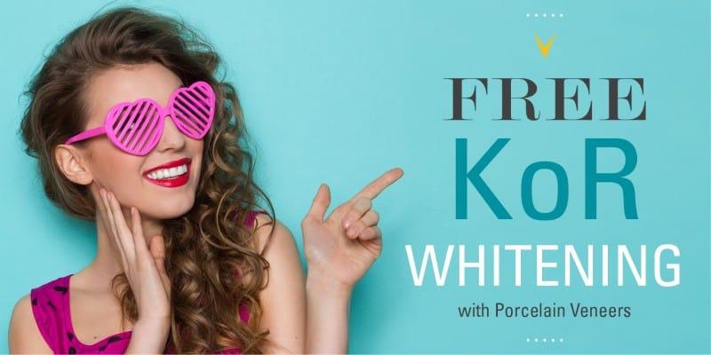 KoR Whitening promo